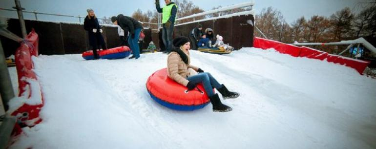 10 зимних развлечений в Московских парках: