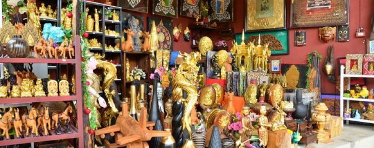 Деревня мастеров в Северном Таиланде. Уникальное место. Вот где надо сувениры покупать!