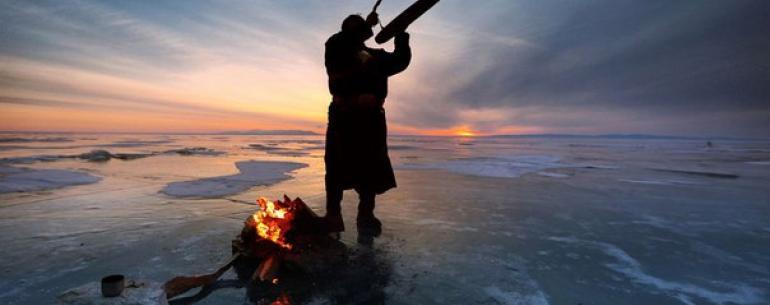 «Лед и пламень». Марк Подрабинек. Байкал, Иркутская область.