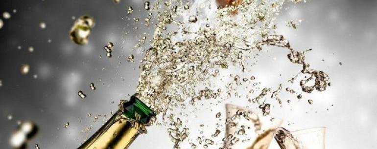 Это шампанское можно пить даже в космосе!
