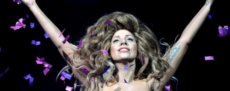 Леди Гага даст концерт в открытом космосе