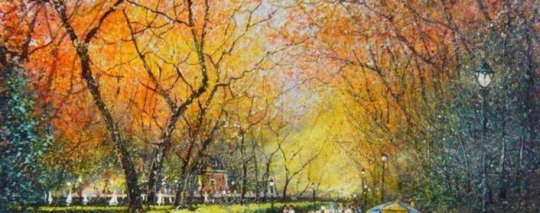 8 художников, очарованных осенью