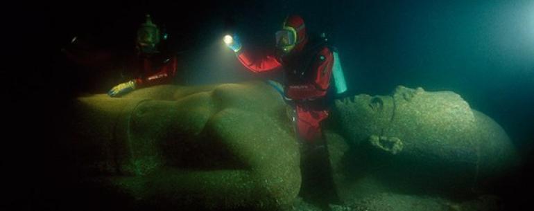 Подводные археологи рассказали о затонувшем Гераклионе