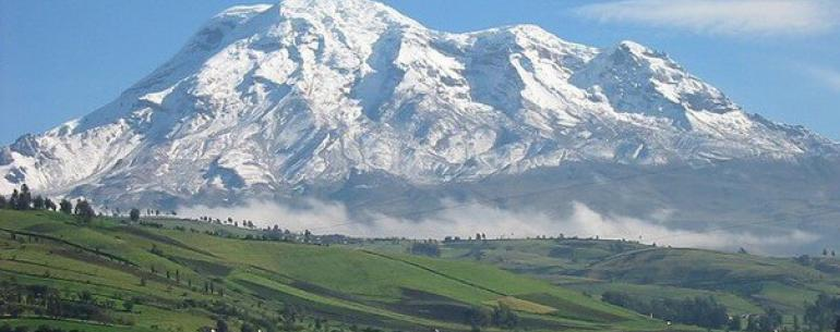 Вулкан Чимборасо, Эквадор