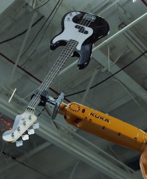 #видео дня | Музыкальная группа, состоящая из промышленных роботов