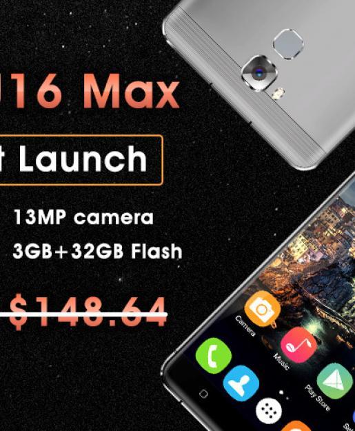 Смартфон OUKITELU16Max поступил в продажу и сразу со скидкой