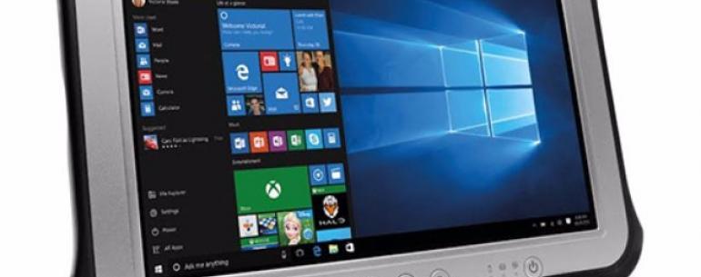 Panasonic представил новое поколение полностью защищённых планшетов Toughpad FZ-G1 mk4 на Windows 10 Pro