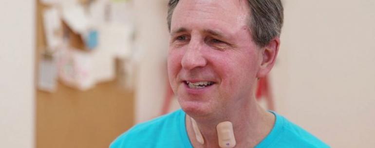 Датчик горла поможет оправиться от инсульта