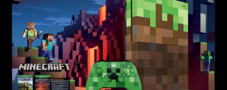 Microsoft открывает предварительные заказы для специального издания Minecraft Xbox One S