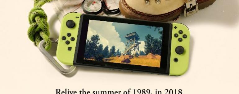 «Firewatch» - еще одна инди-игра, направленная на Nintendo Switch