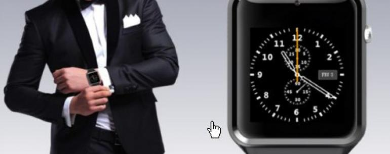 Smart Watch GT08 это инновационный прогрессивный гаджет с широчайшими возможностями. Можно использовать не только как умные часы, синхронизируя со смартфоном, но и как полноценный телефон. Вставьте сим-карту, звоните, пишите сообщения, пользуйтесь Интерне