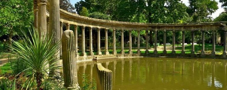 Заброшенный парк в Париже