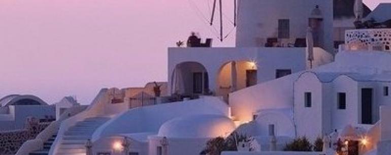 Beчер на Сантоpини, Греция