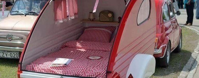 Автомобиль для пикника или путешествия.