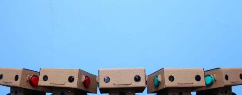 Общительный робот BlabDroid
