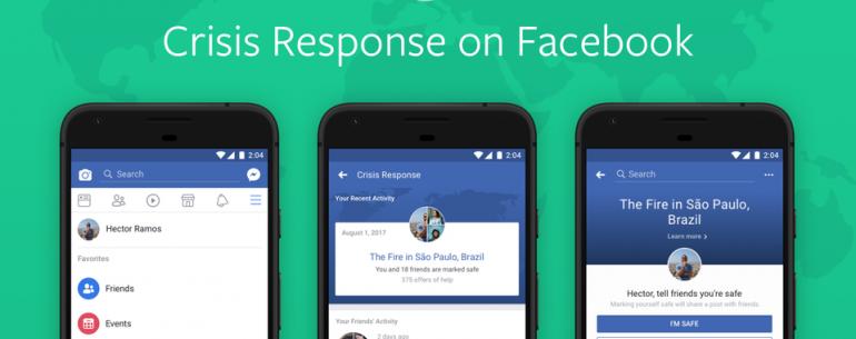 Facebook запускает центр реагирования на кризисы, чтобы помочь пользователям во время стихийных бедствий и атак