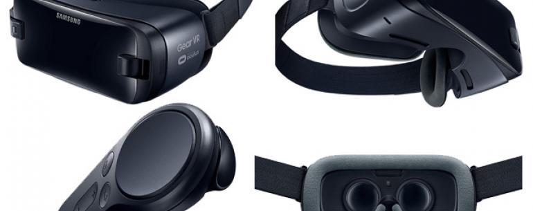 Samsung Gear VR (2017) – лучшие VR-очки для смартфонов Samsung