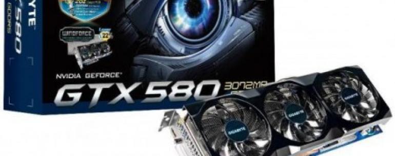 Gigabyte готовит к выходу модификацию видеокарты GeForce GTX 580