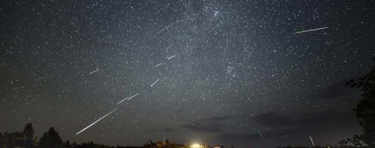 Как и когда смотреть за метеоритным потоком Персеиды с 11 по 13 августа