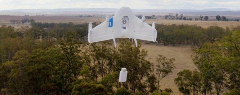 Google запустит сервис коммерческих дронов «Project Wing» в 2017 году