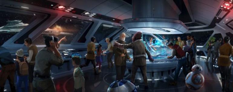 Парки развлечений по мотивам Star Wars откроют свои двери в 2019 году