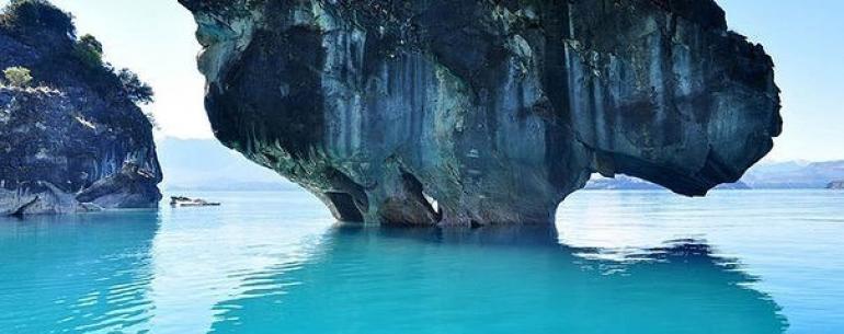Мраморные пещеры озера Хенераль-Каррера